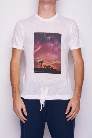 Daniele Fiesoli Desert Image Linen TShirt Colour: