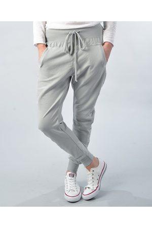 Paradise Boutique Cotton Joggers - Light Grey