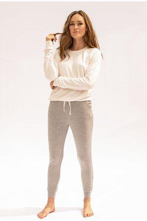 Stripe and Stare Stripe & Stare Grey Marl Lounge Pant