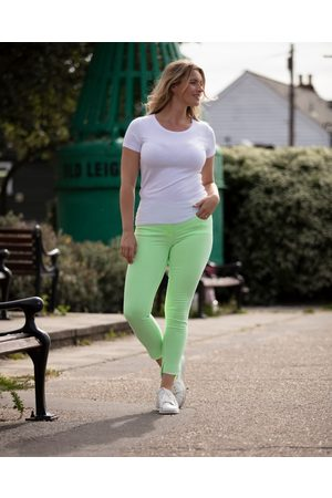 Robell ELENA TROUSERS LIME