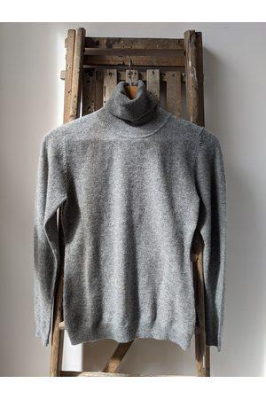 JUMPER 1234 Classic Roll Collar Grey Cashmere