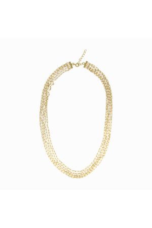 Dinari Jewels Vermeil Multi Chain Necklace Choker