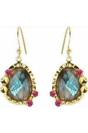 Dinari Jewels Mona Labradorite Earrings