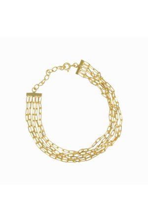 Dinari Jewels Vermeil Multi Chain Bracelet