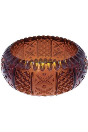 Douglaspoon Frosted Bangle Amber