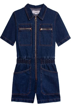LF Markey Danny Indigo Playsuit
