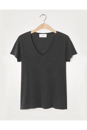 American Vintage Jacksonville Short Sleeve T-Shirt - Vintage Carbon