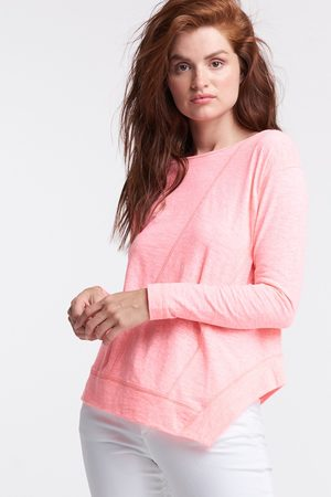Lisa Todd Panel Play Long Sleeve Top - Parade