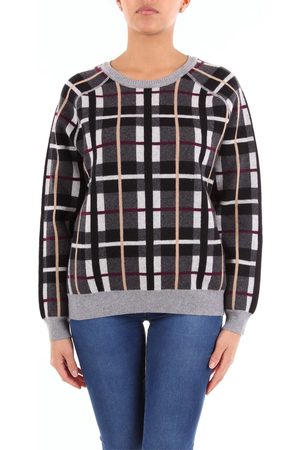Not Shy Notshy crew neck sweater with two-tone long sleeves