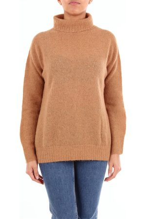 Maliparmi Knitwear High Neck Women Camel