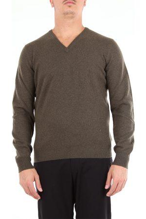BARBA Beard military v-neck sweater with long sleeves