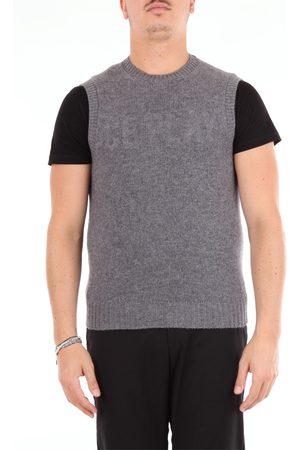 BARBA Knitted vest Knitted vest Men Grey