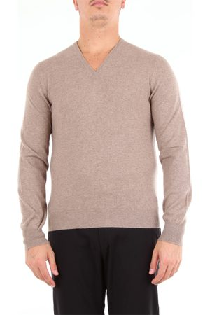 BARBA Beard turtleneck v-neck sweater with long sleeves