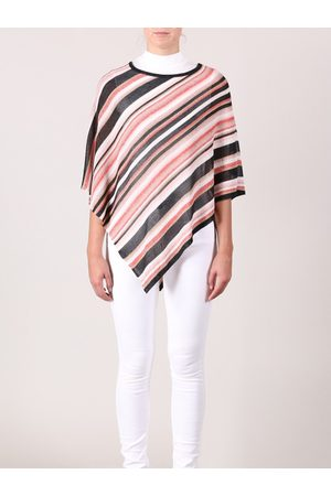 Rino and Pelle Rino & Pelle Myleen Knit Poncho in Rose
