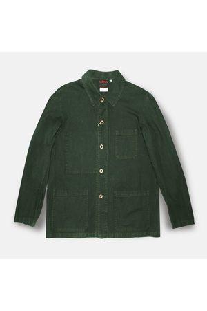VÉTRA Short Workwear Jacket - Khaki