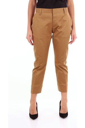 Dsquared2 Camel colored chino trousers