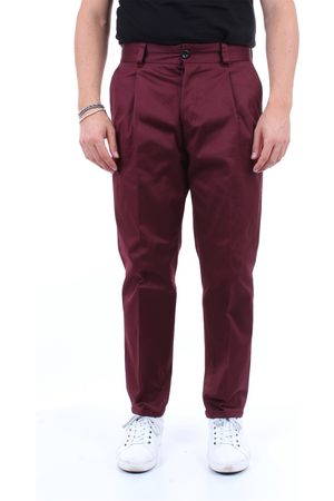 PT Torino Trousers Cargo Men Burgundy