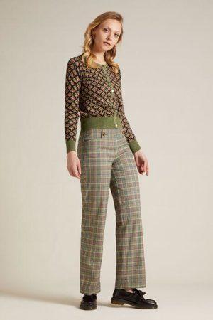 King Louie Women Jeans - Sailor Trousers Miso in Brunette Brown