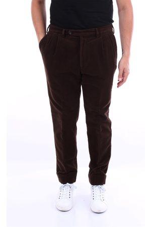 BARBA Beard dark chino trousers
