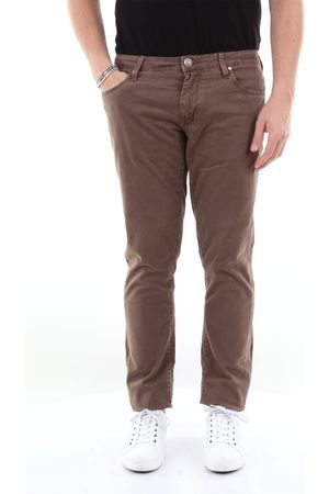 Jacob Cohen 5-pocket trousers in stretch cotton