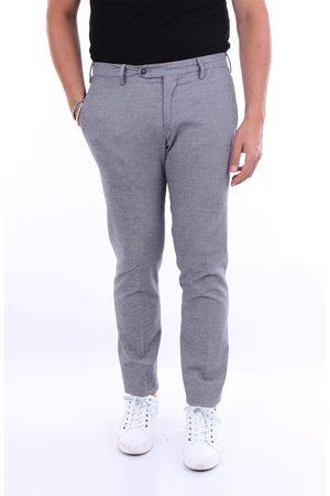 BARBA Trousers Chino Men and white