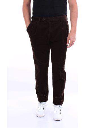BARBA Dark cargo trousers