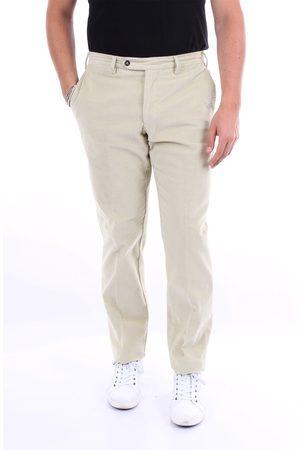 BARBA Natural color chino pants