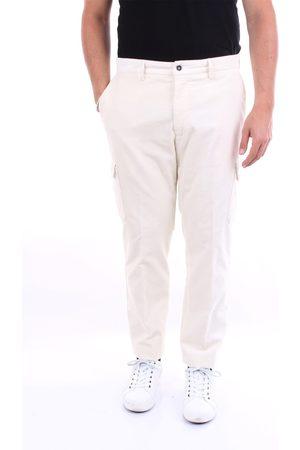 BARBA Trousers Cargo Men Ecru