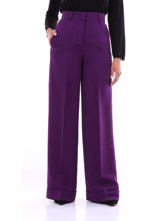 PT Torino Trousers Palazzo pants Women Violet