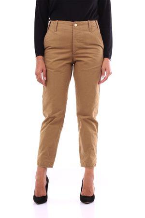 PT Torino Trousers Chino Women Camel