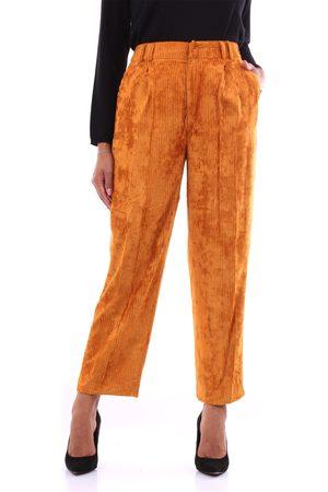 PT Torino Trousers Chino Women Pumpkin