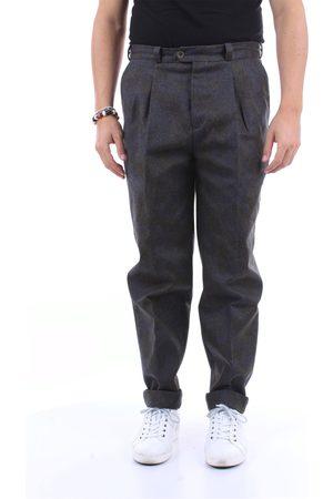 PT Torino Trousers Chino Men Military and gray