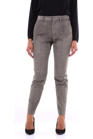 PT Torino Trousers Chino Women Military and gray
