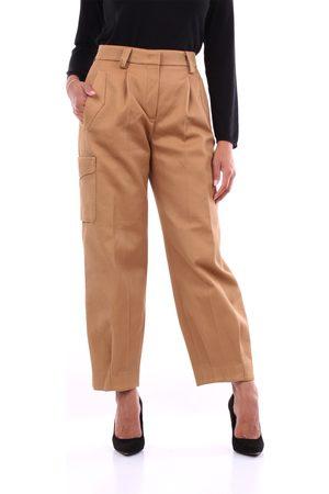 PT Torino Trousers Cargo Women Camel