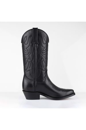 Tony Mora Western Boot - Black