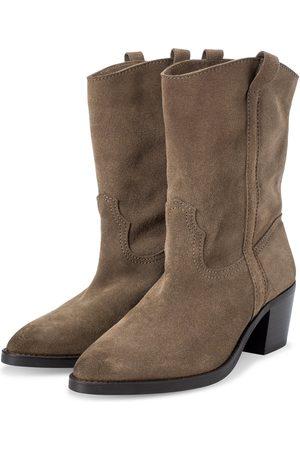 YAYA Brown Cow Boy Boots
