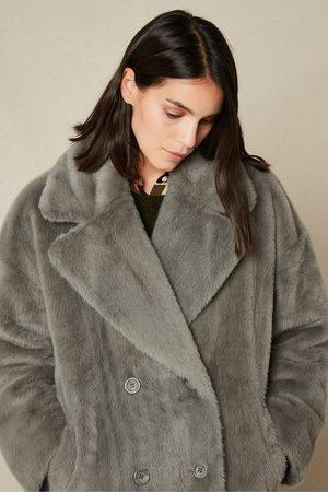 HARTFORD Vaderi Faux Fur Coat