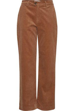 Ichi Women Jeans - Hilla Thrush Brown Trousers