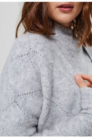 Selected Sif ls structure knit cardigan
