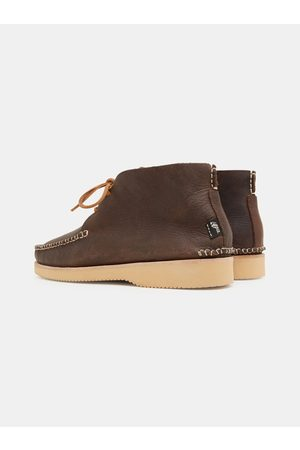Yogi Footwear Lucas Tumbled Leather Moccasin Vibram Boot - - Handcrafted in Portugal