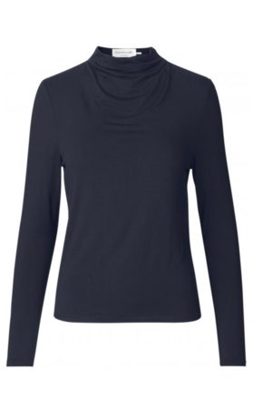 Rosemunde Biarritz Long Sleeved Top in Navy