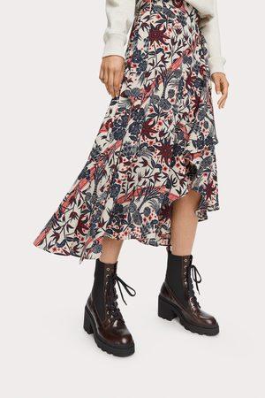 Scotch&Soda Midi Print Wrap Skirt