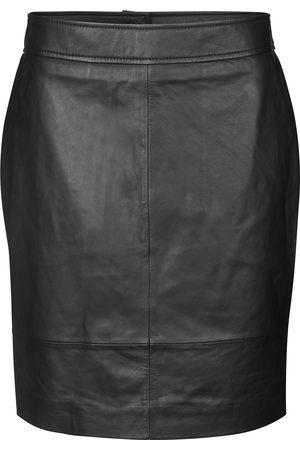 Second Female Women Mini Skirts - Francie Mini Leather Skirt
