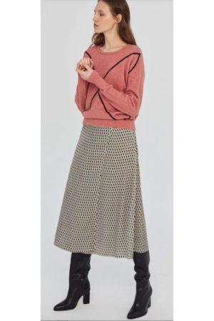 Sita Murt Geometric Print Skirt