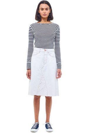 YMC Reconstructed Skirt - ECRU