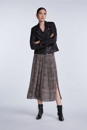 SET Leopard print Skirt