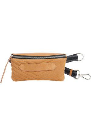 Dr. Martens Coachella - Quilted Suede Belt Bag Camel