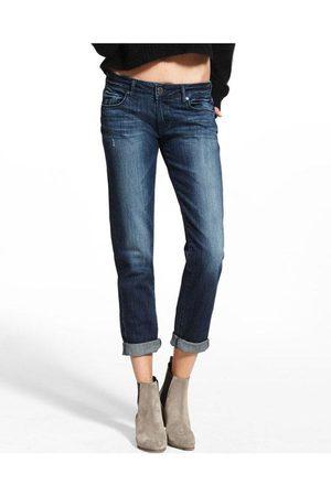 Dl Women Boyfriend Jeans - Riley Straight Boyfriend Jeans Nassau