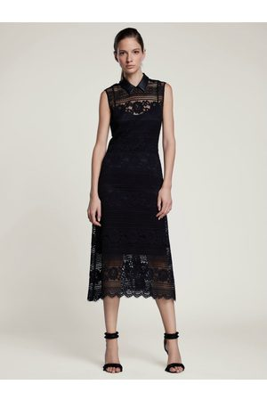 SET Set Lace Midi Dress In