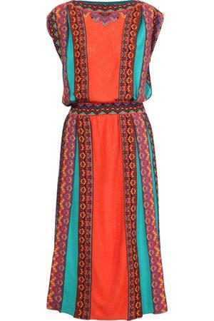 Ivko Brocade Dress in Cinnabar SS21